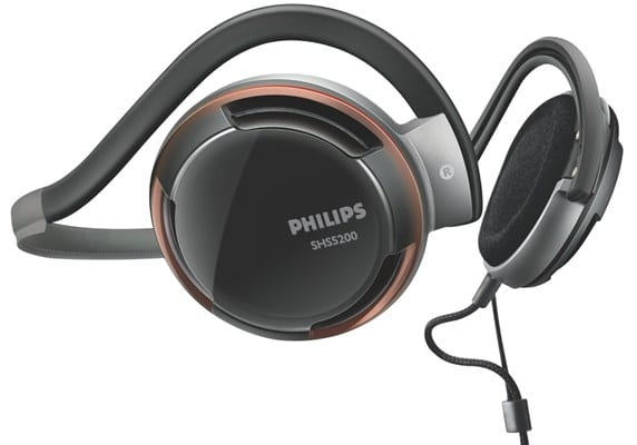 Philips SHS5200-28 Behind The Neck Types of Headphones