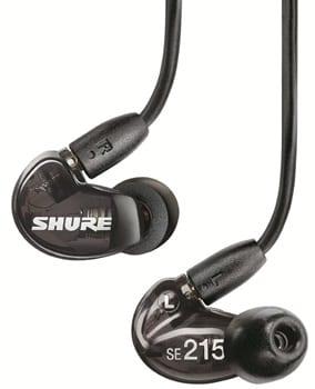 Shure SE215-K - best headphones for rock music under $100