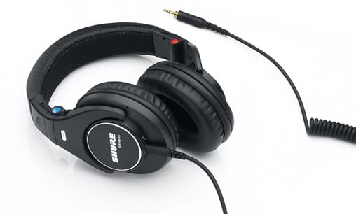 shure srh840 - best over ear headphones under  200
