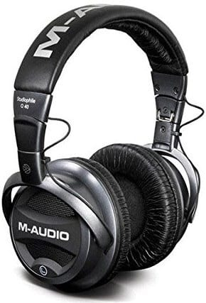 M-Audio Studiophile Q40 front - best studio headphones under 100