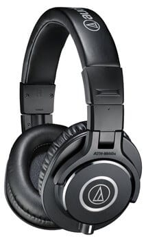 Audio-Technica ATH-M40x side - Best Headphones for Watching Movies