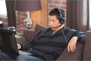 bluetooth headphones with boom mic - featured image