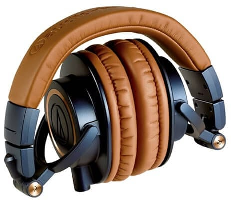 Audio Technica ATH-M50X -  Best Headphones for Producing Music