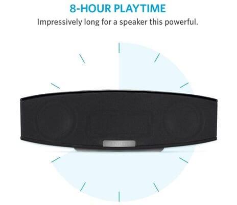 Anker A3143 battery - Best Portable Bluetooth Speaker under $100