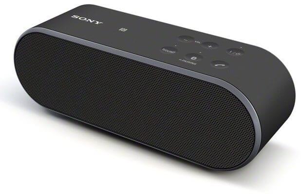 Sony SRS X2 upper - Best Portable Bluetooth Speaker under $100